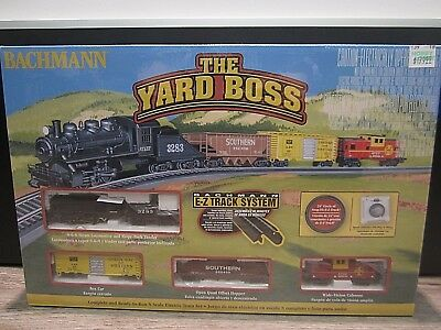 NIB Bachmann 24014 * The Yard Boss - Factory Sealed Complete Starter Set