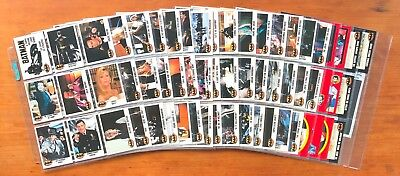 1989 Topps Batman (The Movie) Series 1 - Set of 132 Cards, 22 Stickers, 11 Bonus