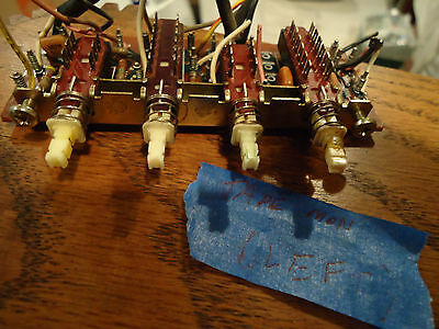Marantz 2238 Stereo Receiver Parting Out Tape Monitor Switch Board + Switches