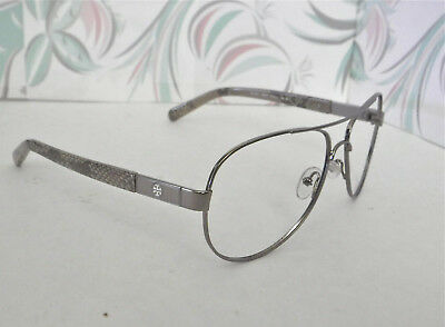 9ad3225b7d7f Tory Burch Sunglasses Authentic Silver Snakeskin (Frames only) 6010 103 T5