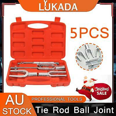 LUKADA 5pc Tie Rod Ball Joint Pitman Arm Separator Remover Set Pickle Fork Tool