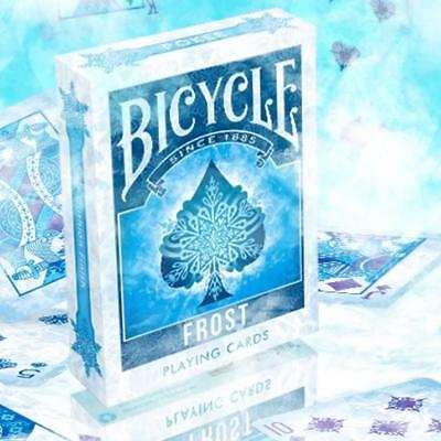 Frost Playing Cards Ice Blue Poker Magic Cool Cold Deck