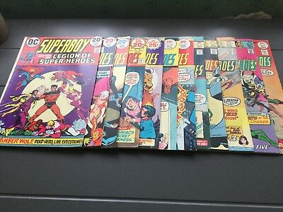 DC Comics Superboy & The Legion Of Super Heroes #197,199.201,204,206,207,209,+5