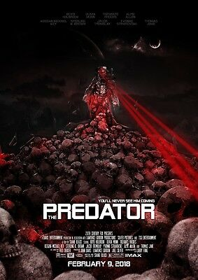 Predator MOVIE POSTER a - 4 SIZES YOU CHOOSE - UK SELLER - UK POST INC. (ALIEN)