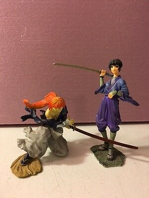 Rurouni Kenshin Miniature Anime Statue Bundle of Two Characters Series 3