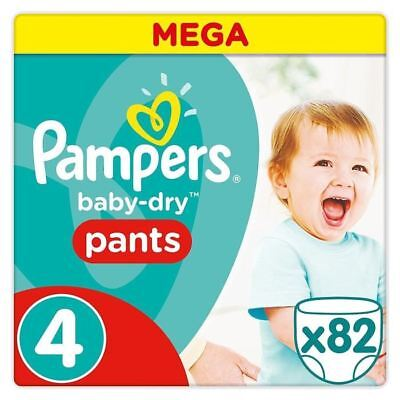 246 Pampers Pants  taille 4 (soit 0.25€ la couche )+ KDO