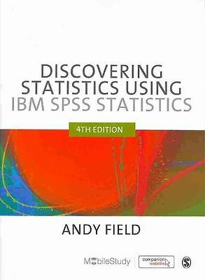 Discovering Statistics Using IBM SPSS Statistics, Field, Andy, Good, Paperback