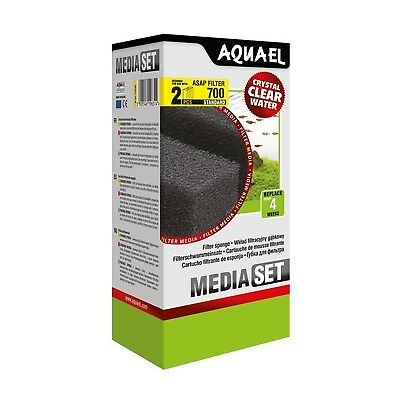 Aquael Filter Foam Standard Asap 700for Aquarium 2Pcs