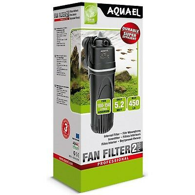 Aquael Fan Filter 2 Plus (100 - 150 Litre) Aquarium Filter Pack Of 1
