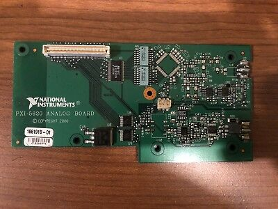 National Instruments PXI-5620 USED PXI 5620 Analog Board ONLY