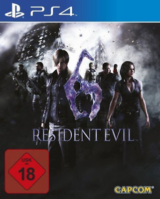 Playstation 4-Resident Evil 6 Ps-4 Hd  GAME NEW