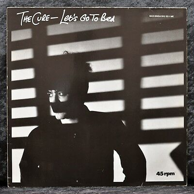 "The Cure - Let´s Go To Bed - 12""-Maxi - Fehlpressung - D - 1986 - 813122-1ME"