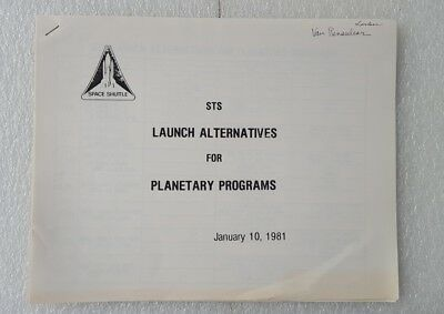 EXTREMELY RARE OPPORTUNITY LOT NASA documents 70s-80s, newspapers, coin-medal..
