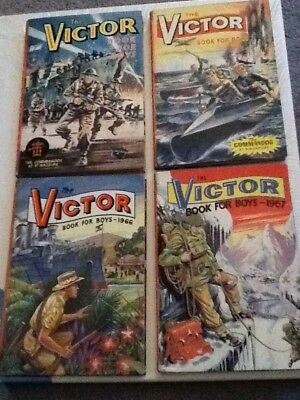 First 4 Victor Annuals 1964-1967 in vg condition