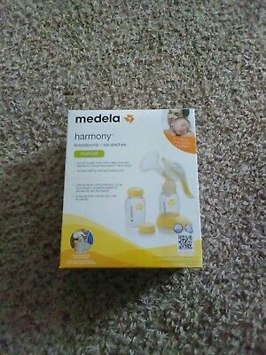 NEW! Medela Harmony Manual Breast Pump 67186, 2 Phase-Expression New & Seales