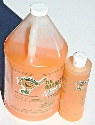 THE SCRUBBER HAND CLEANER,  GRIT or GEL,  PINTS OR GALLONS, ATS DISTRIBUTORS