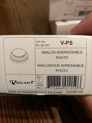 NIB - Vigilant V-PS Photoelectric Smoke Detector