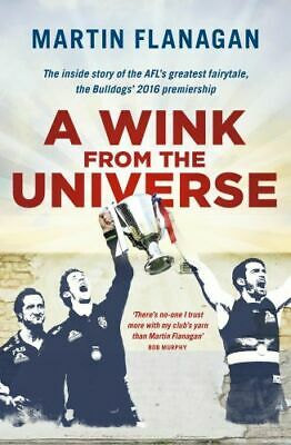 NEW A Wink from the Universe By Martin Flanagan Paperback Free Shipping