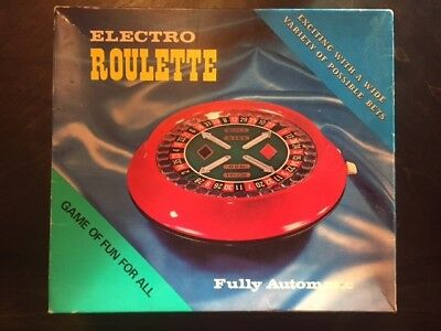 VINTAGE WACO ELECTRO ROULETTE GAME - Complete All Pieces