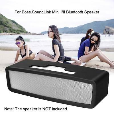 Silicone Carry Travel Case Cover for Bose Soundlink Mini I II Bluetooth Speaker