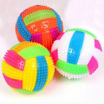 Baby Light-up Toy Volleyball Sound Messager Children Luminous Toy 6.5CM
