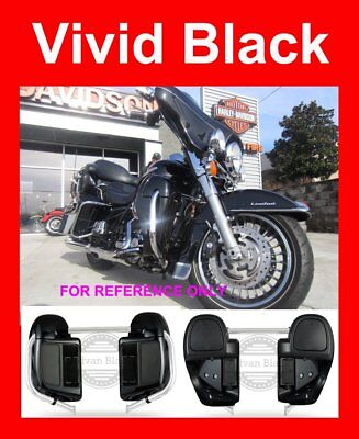 Amber Whisky Lower Vented Fairings Fit Harley Touring Electra Glide 1983-2019