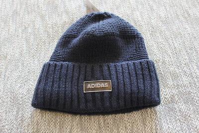 ADIDAS MEN blue pine knot beanie hat One size -  24.00  d71acd4a854