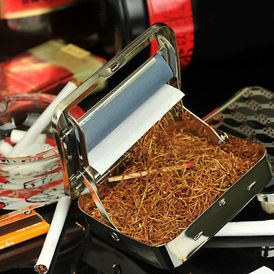 High Quality Metal Automatic Cigarette Tobacco Roller Rolling Machine Box .US