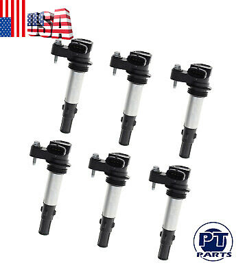6 pc  Ignition Coils For Saab 9-3 GMC Acadia 52-1816  50136 GN10309 1258351