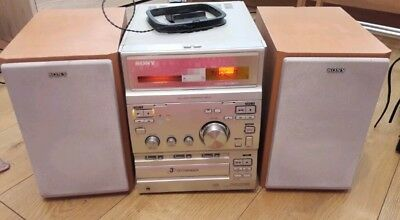 Sony HCD-CP300 CD and tape player