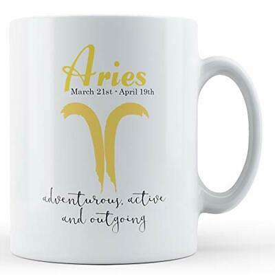 Aries Star Sign Meaning - Printed Mug