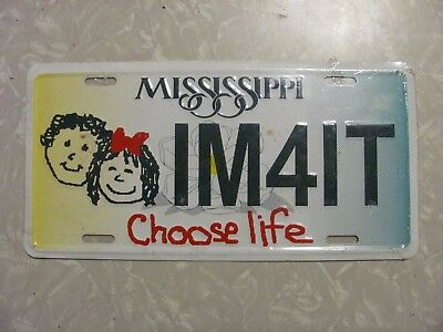 2003 ?? Mississippi  License Plate   Free Shipping Not State Issued Novelty