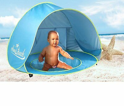 MonoBeach Baby Beach Tent Pop Up Portable Shade Pool UV Protection Sun Shelter