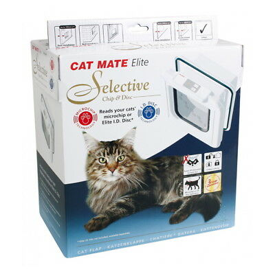 Katzenklappe Cat Mate, Nr. 355 Elite Super Selective Chip & Disc