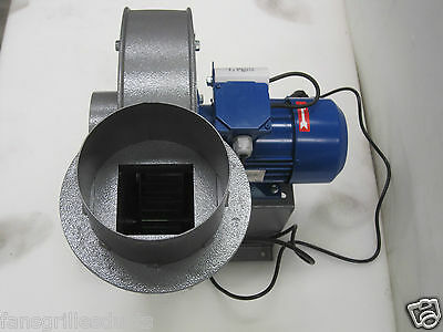 Laser Fume Extract Fan - 230v 1.1KW high power heavy duty