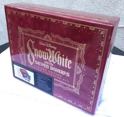 Walt Disney Snow White and the 7 Dwarfs Limited Edition Diamond Collector Set