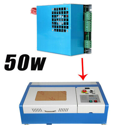 110-220V 40W CO2 Laser Power Supply Engraving Engraver Cutter Machine