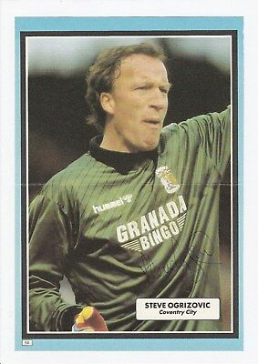 Steve Ogrizovic Coventry City 1984-2000 Original Hand Signed Annual Cutting
