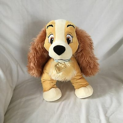 Genuine Disney Store Lady Plush From Lady & The Tramp