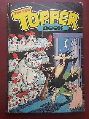 The Topper Book - Annual - 1974 - Hardback Book