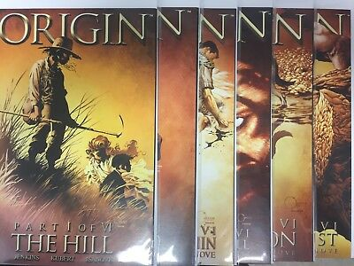 WOLVERINE: THE ORIGIN #1 2 3 4 5 6 (Full Run 1-6) Marvel 2001