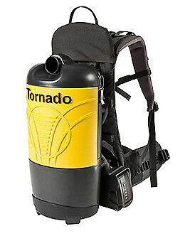 Tornado 6Qt Battery Back Pack Vacuum Roam