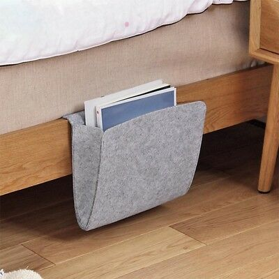 Felt Bedside Pocket Caddy Storage Organizer Bed Organizing Desk Sofa Holder