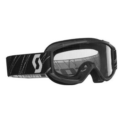 SCOTT SPORTS 89Si YOUTH MX MOTOCROSS GOGGLES BLACK