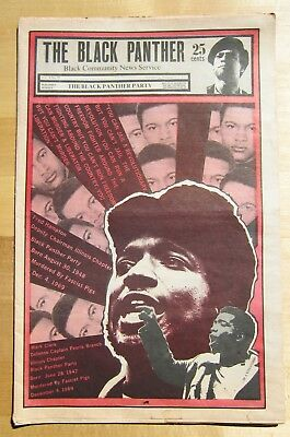 Original Vintage Dec. 5, 1970 The Black Panther Party Newspaper-Vol. V No. 23