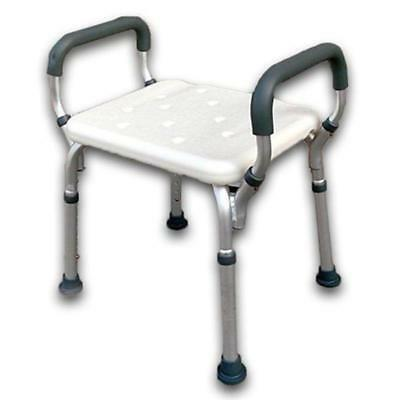 Delta S24 Shower Stool - Height adjustable aluminium shower stool with removable