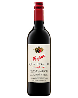 Penfolds Koonunga Hill 76 Shiraz Cabernet 2015 case of 6 Wine 750mL