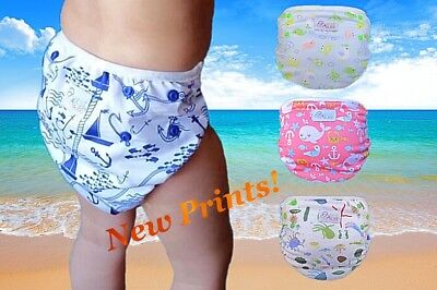 Best4Bubs Reusable Swim Nappies One Size - Newborn to Toddler