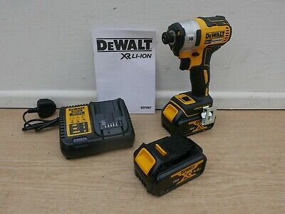 Dewalt Xr 18V Dcf887M2 Brushless Impact Driver 2 X 4 Ah + Tstak Offer