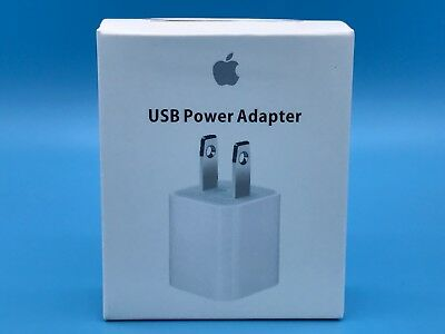 OEM USB Wall Charger Cube Power Adapter for Original Apple iPhone iPod 5 6 7 X s